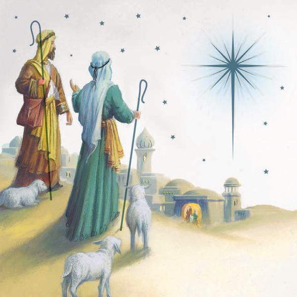 Shepherds near Bethlehem
