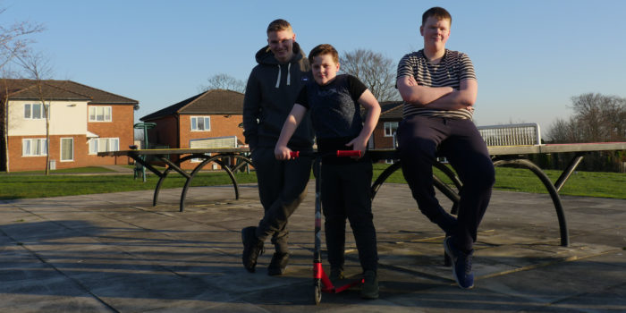 boys at Nugent House Residential