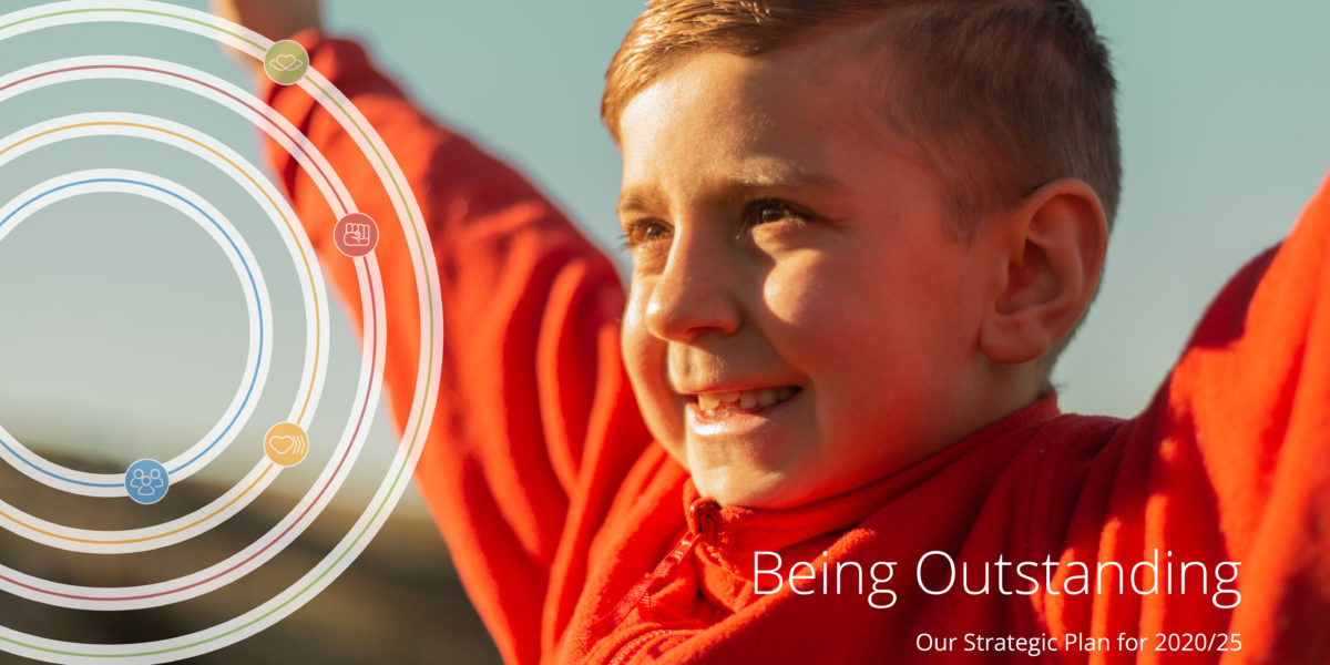 Being Outstanding: Our Strategic Plan for 2020-25